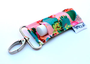 LippyClip® Lip Balm Holder - Coral Cactus