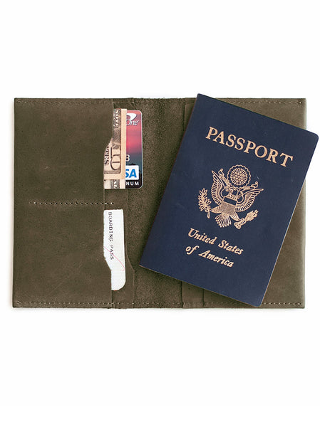 EYERUSALEM PASSPORT WALLET - OLIVE