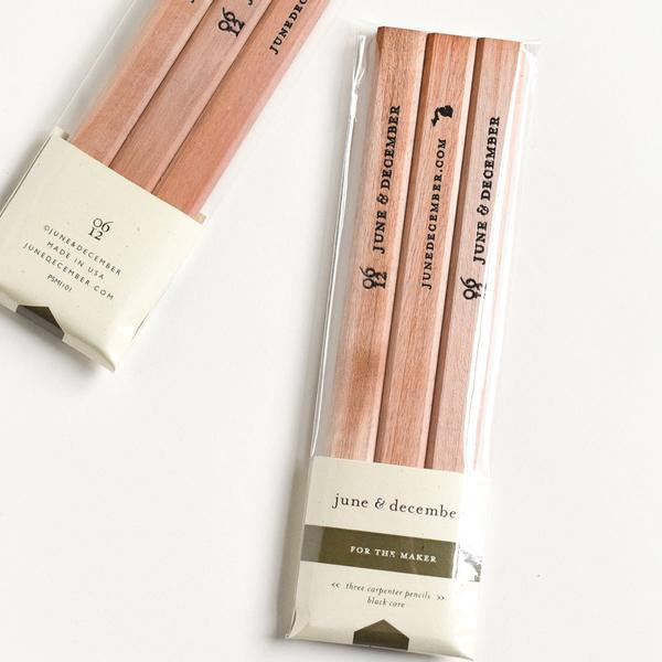 For the Maker Carpenter Pencil Set