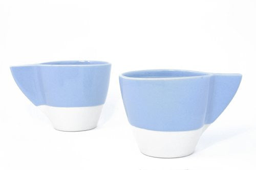Comet Coffee Mug - White/Periwinkle