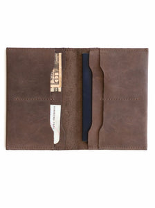 EYERUSALEM PASSPORT WALLET - CHOCOLATE