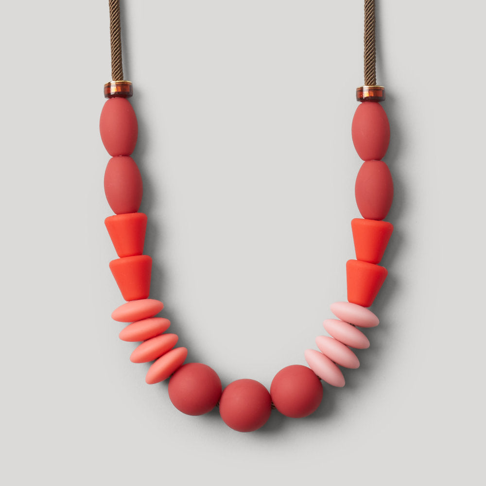 Rose Statement Teething Necklace