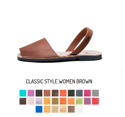 Classic Women Avarca Sandals in all Colors