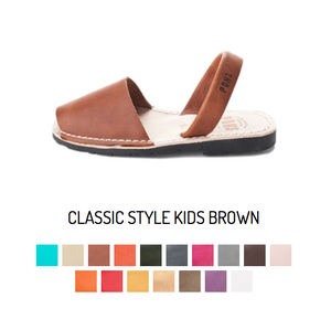 Classic Kids Avarca - All Colors