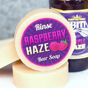 RASPBERRY HAZE BEER SOAP