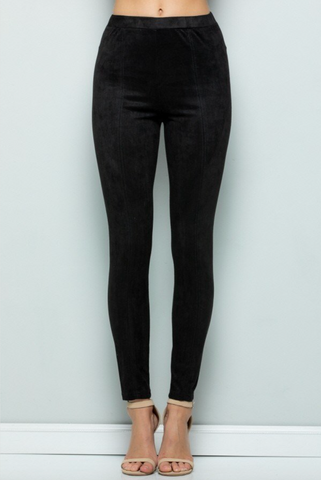 Carter Faux Suede Leggings