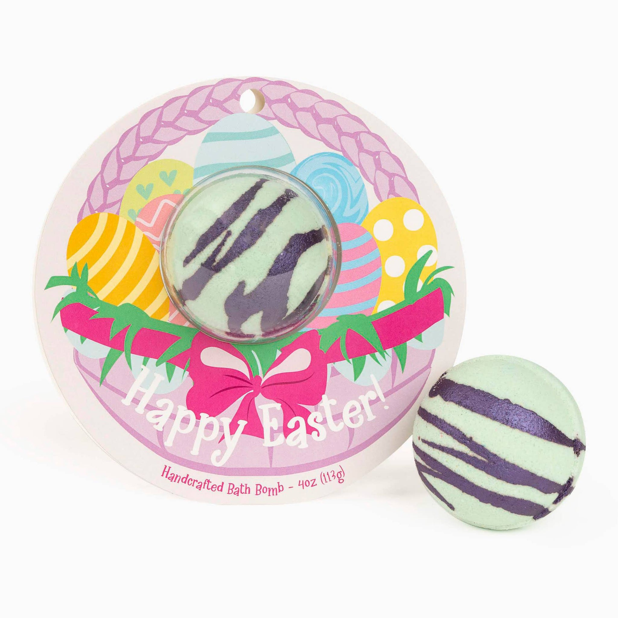 Happy Easter! Easter Basket Clamshell Bath Bomb