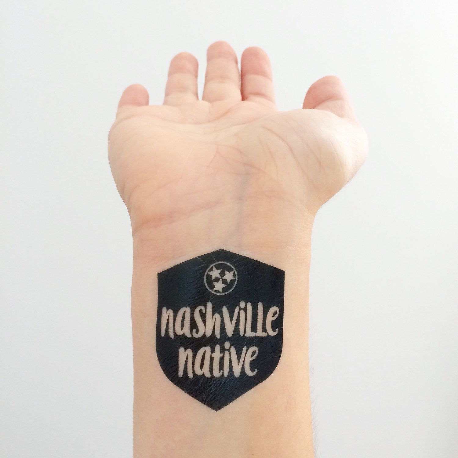 Nashville Native Temporary Tattoos