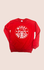 Merry & Bright Pullover - Red