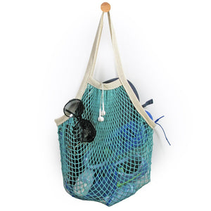 French Market Bag - Aqua