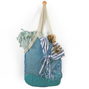 French Market Bag - Blue