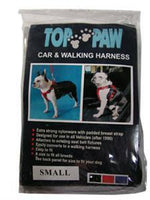 Car & Walking Harness - Small - Black