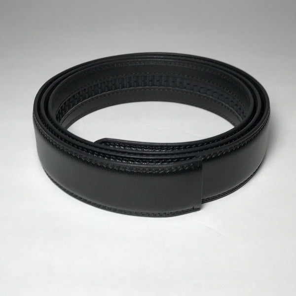 Genuine Automatic Leather Belt Only, Compatible with Automatic Ratchet Buckles