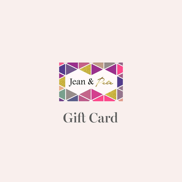 Jean & Pete Gift Card