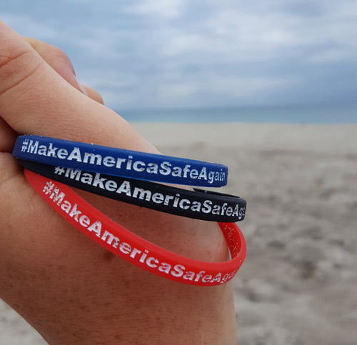 Make America Safe Again Wristband