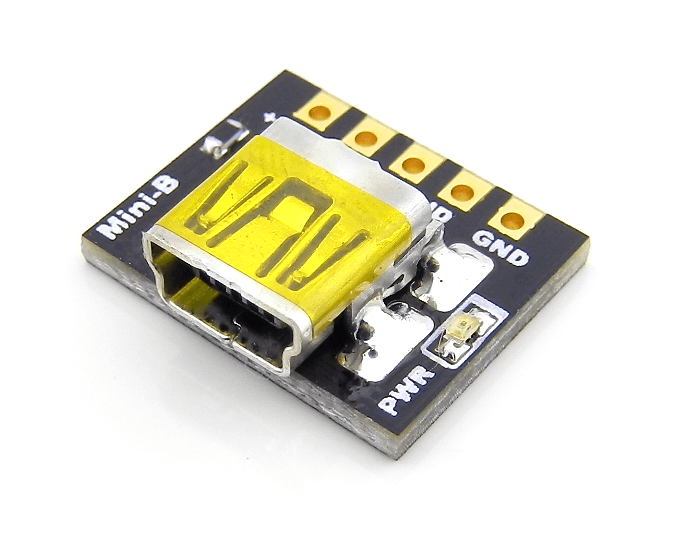 USB Mini B Breakout Board