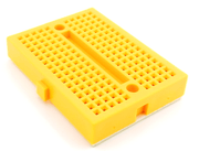 Mini Solderless Breadboard (Amber)
