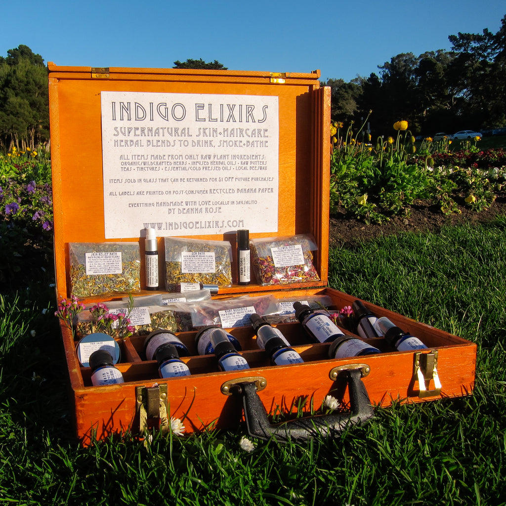 A Decade of Indigo Elixirs