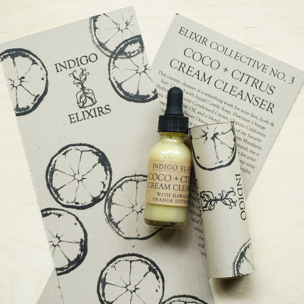 Coco + Citrus Cream Cleanser for the Elixir Collective