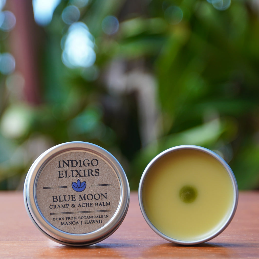 BLUE MOON BALM for Cramps & Sore Muscles