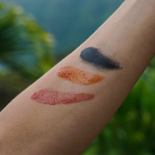 Botanical Makeup Swatch