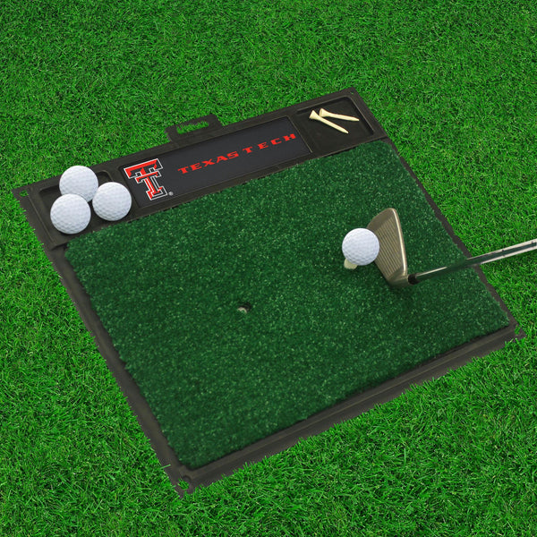 Texas Tech Golf Hitting Mat 20 x 17