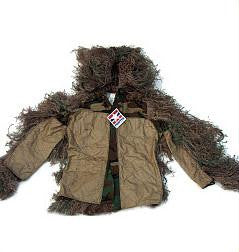 Sniper Ghillie Suit Jacket Mossy Small