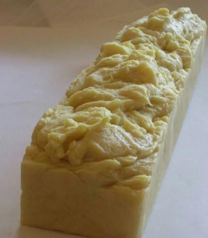 Handmade 4 lb Soap Loaf Chamomile - Honey