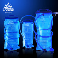 AONIJIE Outdoor Cycling Running Foldable PEVA Water Bag Sport Hydration Bladder for Camping Hiking Climbing, 1.5L/2L/3L