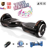 6.5'' inch 2 wheel self balancing scooter ul hoverboard bluetooth ox board with electric hoover board skate steering wheel bag