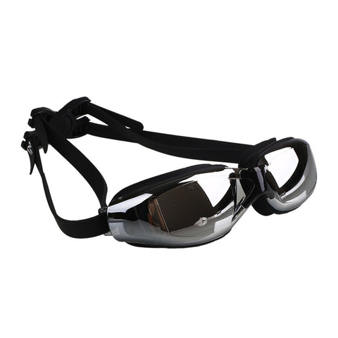 Professional Adjustable Electroplating Swimming Glasses UV Protect Swim Glasses