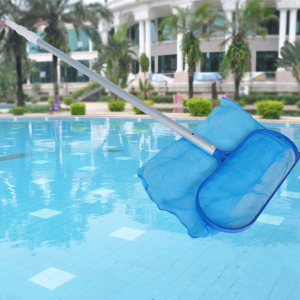 1pc Blue Pool Cleaning Net Swimming Pool Hot Tub Pond Surface Leaf Skimmer Net Clean Rack Professional Tool For Swimming Pool