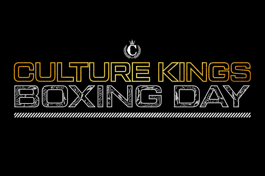 Get On Culture Kings Boxing Day Deals!