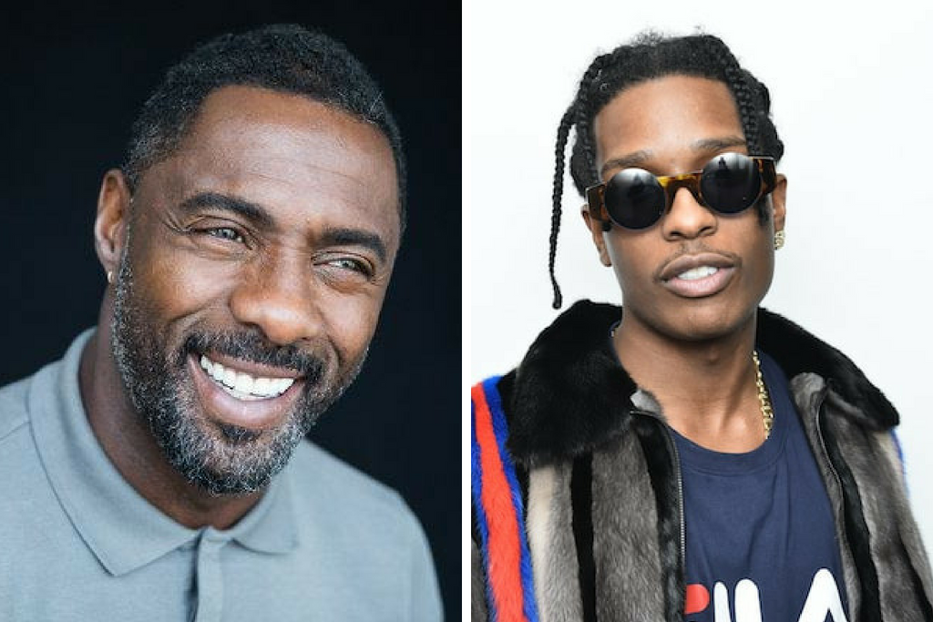 A$AP Rocky And Idris Elba Are Collaborating?!
