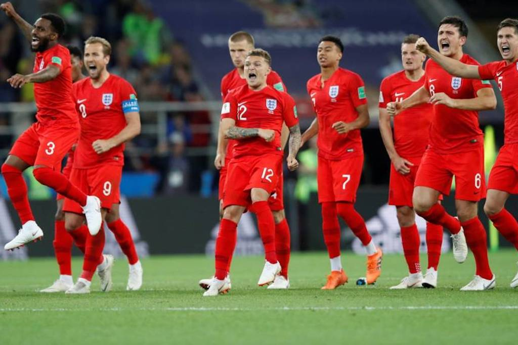 England Go Through To The FIFA 2018 Quarter Finals