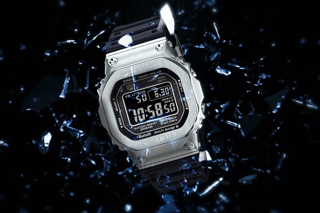 Get Amongst G-Shock's Resin Full Metal
