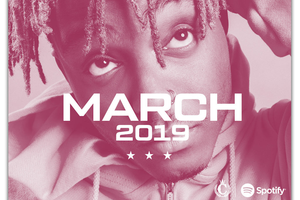 OFFICIAL MARCH SPOTIFY PLAYLIST.
