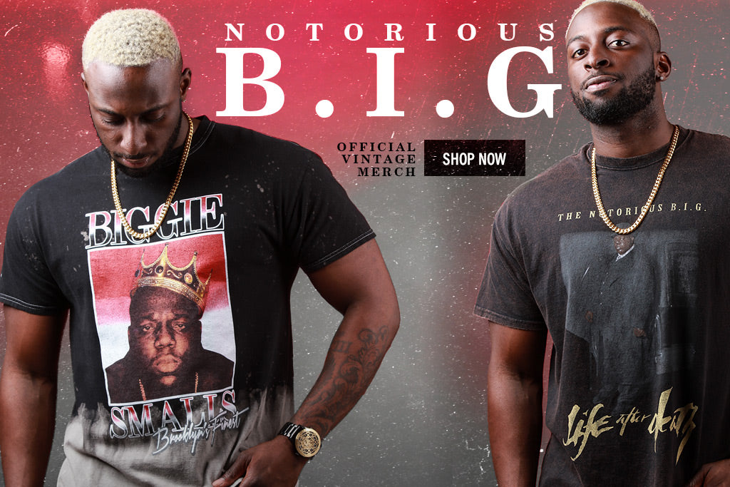 Get On These Notorious B.I.G Vintage Pieces