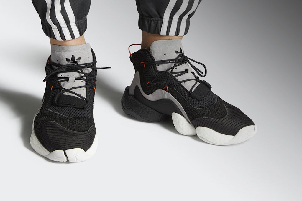 official photos 3b9a3 8312a Go Insane For adidas Crazy BYW Lvl 1 in Carbon