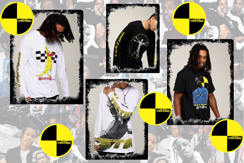 A$AP ROCKY TESTING MERCH - AVAILABLE AT CK THIS BOXING DAY!