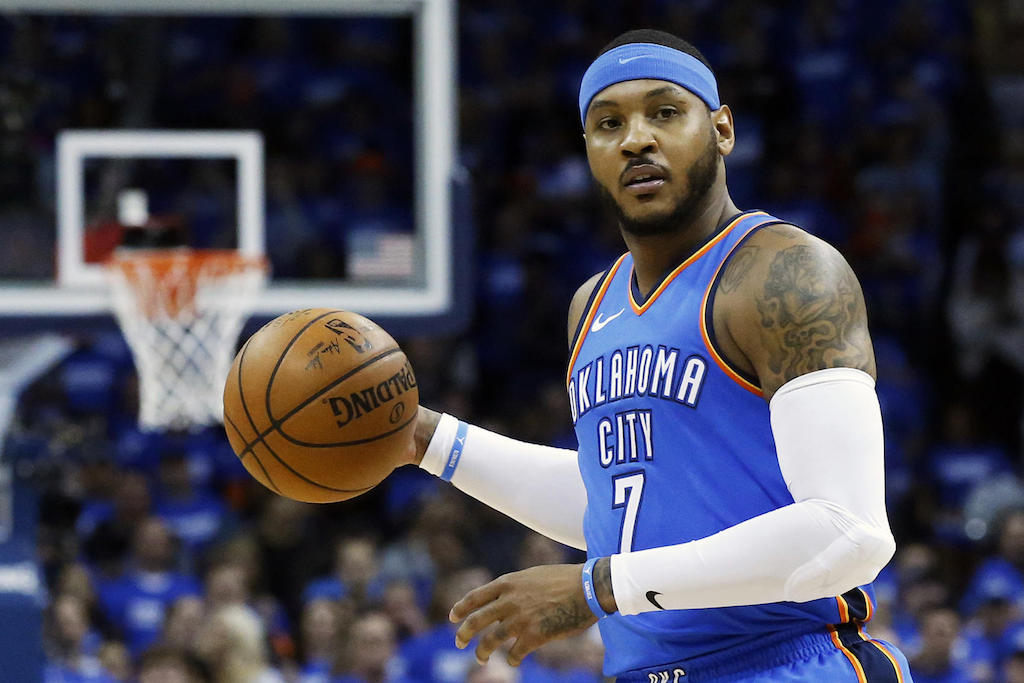 Confirmed: Carmelo Anthony Will Be A Free Agent