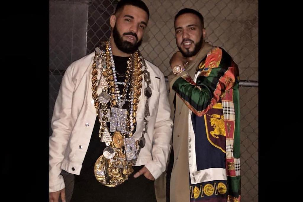 Drake & French Montana Are Filming A Music Video & Hating On Ye