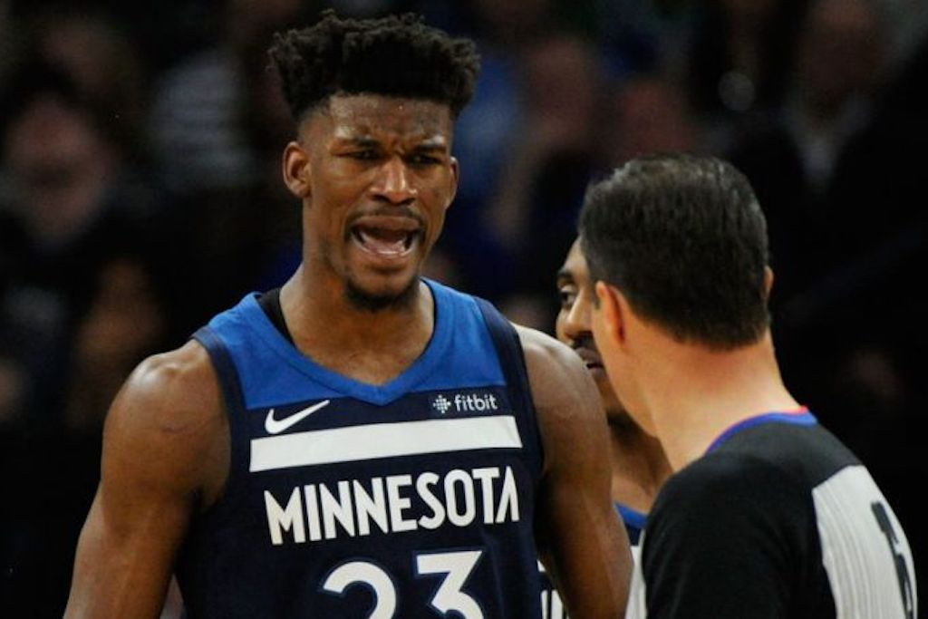 Jimmy Butler Has Meltdown At Wolves' Training