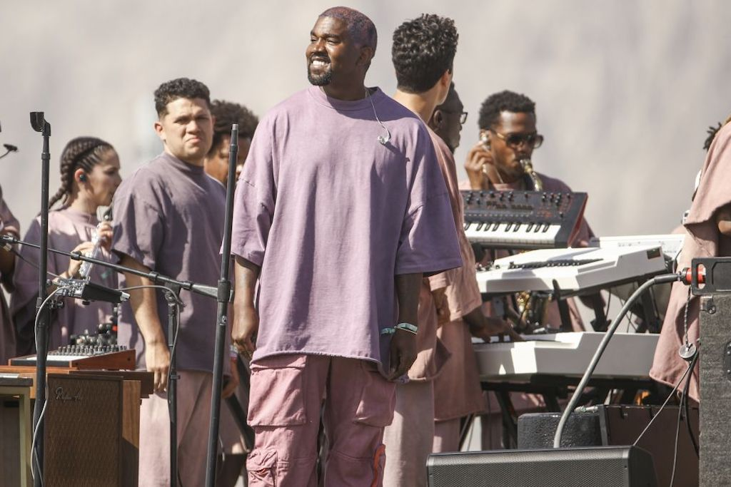 WATCH NOW: Kanye's Sunday Service At Coachella