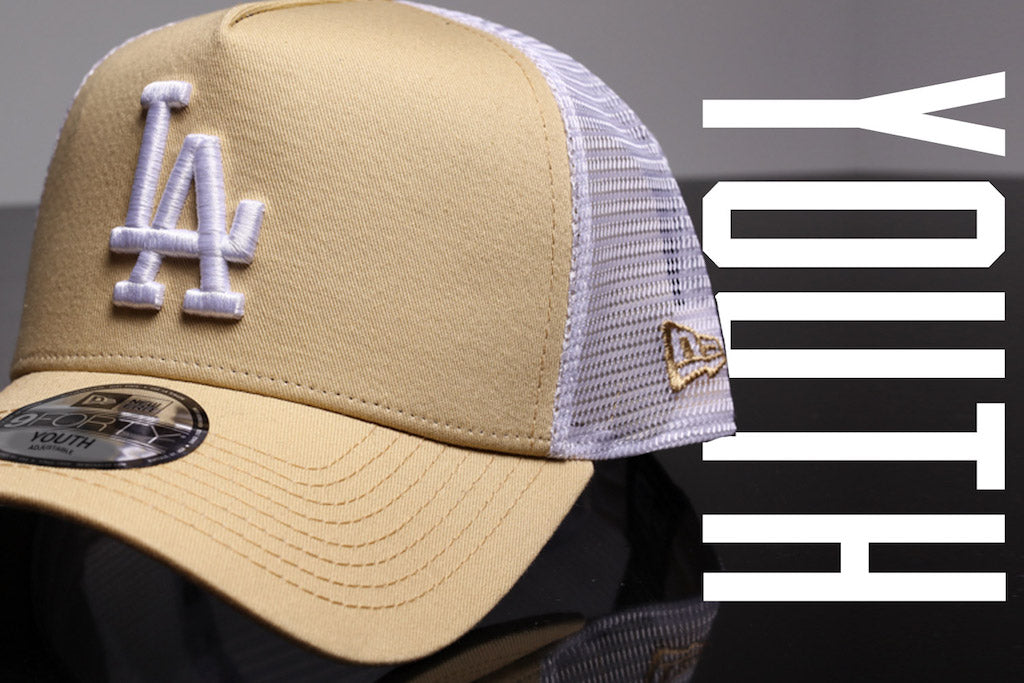Kids White/Nude Trucker Caps Are Coming
