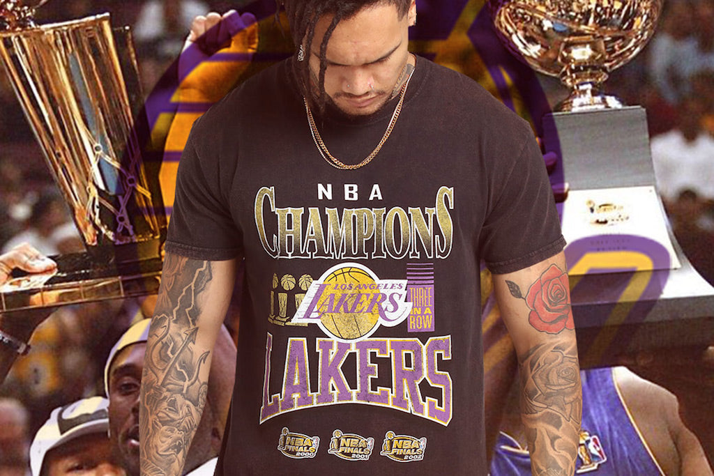 The Kobe x Lakers Vintage Champ Tee Is One For The Ballers