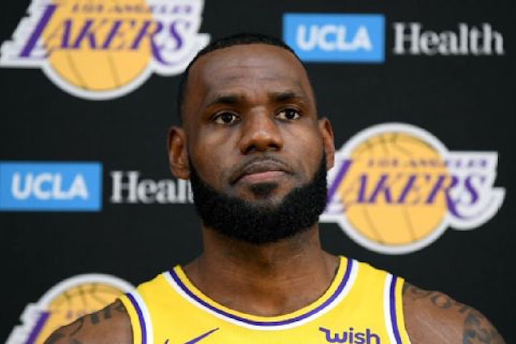 "LeBron Says The Lakers Have ""A Long Way To Go"""