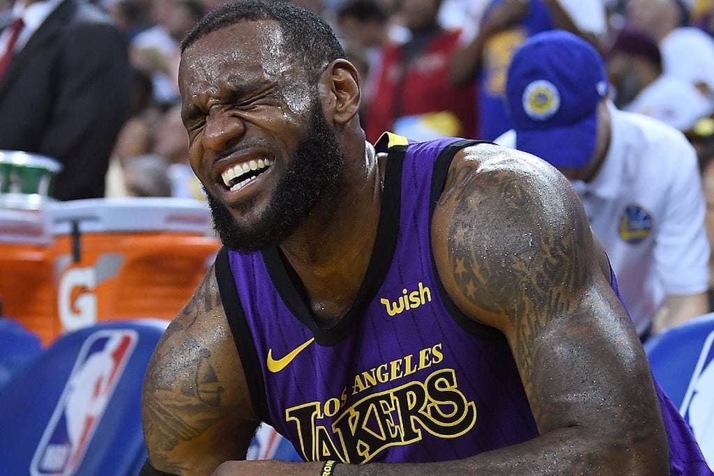 LeBron Will Miss Multiple Games Due To Groin Injury