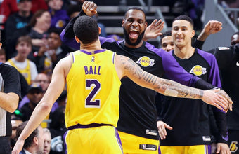 LeBron James & Lonzo Ball Earn Triple-Doubles In Same Game