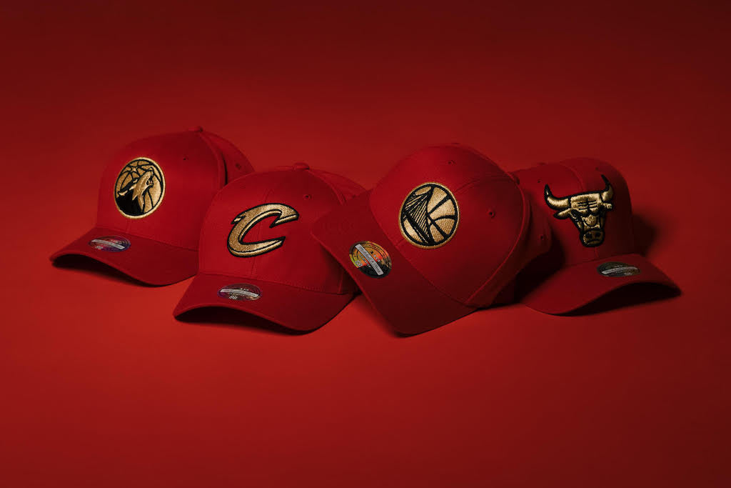 Cop Some EXCLUSIVE Red/Gold Snapbacks